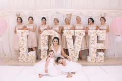 LOVE in flowers Wedding