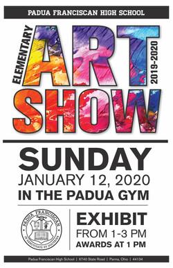 Art Show_ Family Invitation and RSVP - C
