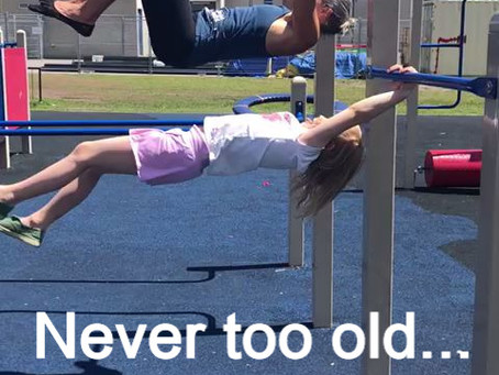 Feeling too old to start Natural Movement?