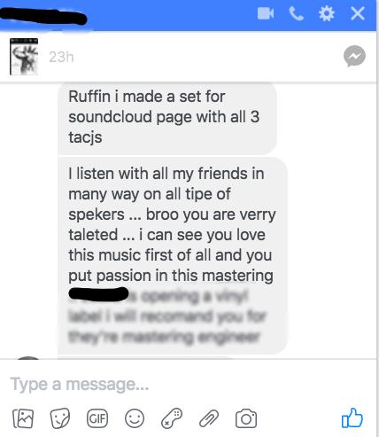 FB Chat conversation