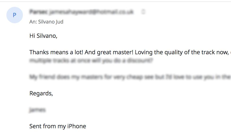 Screenshot Email