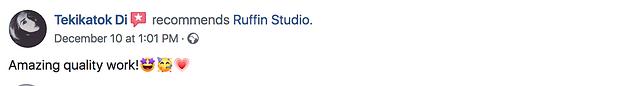 Ruffn Studio Ro-minimal testimonial