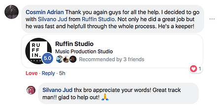 Ruffin Studio testimonial