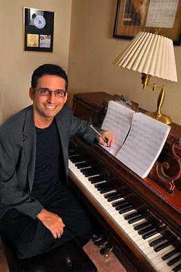 Gordon Pogoda at Piano
