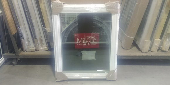 "Milgard Vinyl Casement Window RH - RO 30"" x 36"""