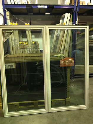 Milgard Vinyl Double Casement Window