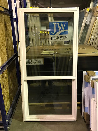 """JELD-WEN Vinyl Single Hung Window - RO 36"" x 84"""