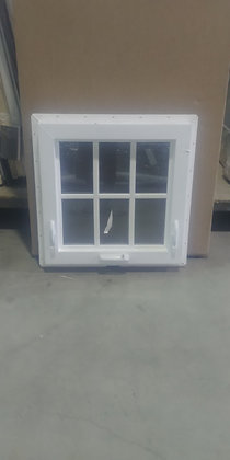 "Milgard Vinyl Awning Window with SDL - RO 24"" x 24"""