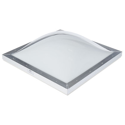 "36x48"" White Dome Curb Skylight"