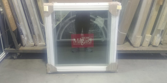 "Milgard Vinyl Casement Window RH - RO 36"" x 36"""