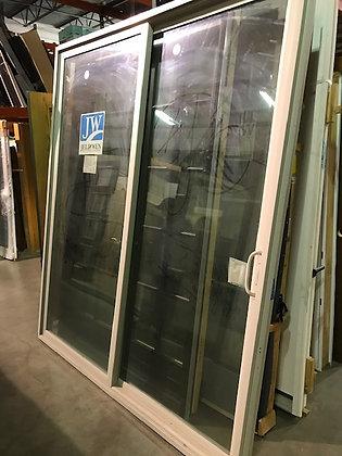 JELD-WEN 7-0 x 8-0 Vinyl Gliding Patio Door