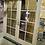 Thumbnail: Milgard Ultra 6-0 x 6-8 Fiberglass French Door Tan/Tan with Handleset