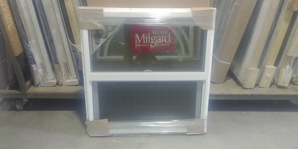 Milgard Vinyl Single-Hung Window