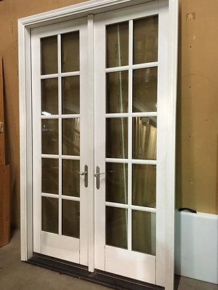 JELD-WEN 5-0 X 8-0 French Patio Door