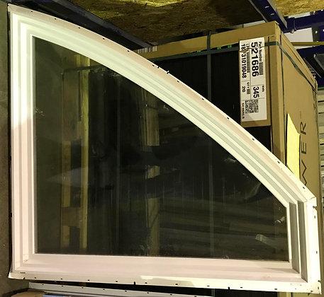 Milgard Vinyl Radius Picture Window