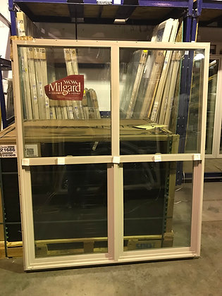 Milgard Vinyl Twin Single-Hung Window