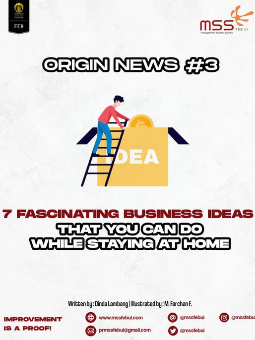 Origin News #3