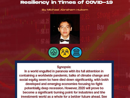 Indonesian ESG-compliant Stocks Resiliency in Times of COVID-19