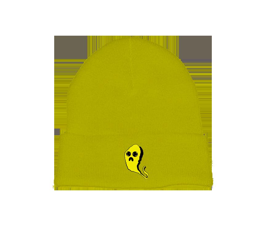 Yellow Ghost Beanie