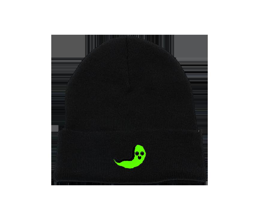 Green Ghost Charcoal Beanie