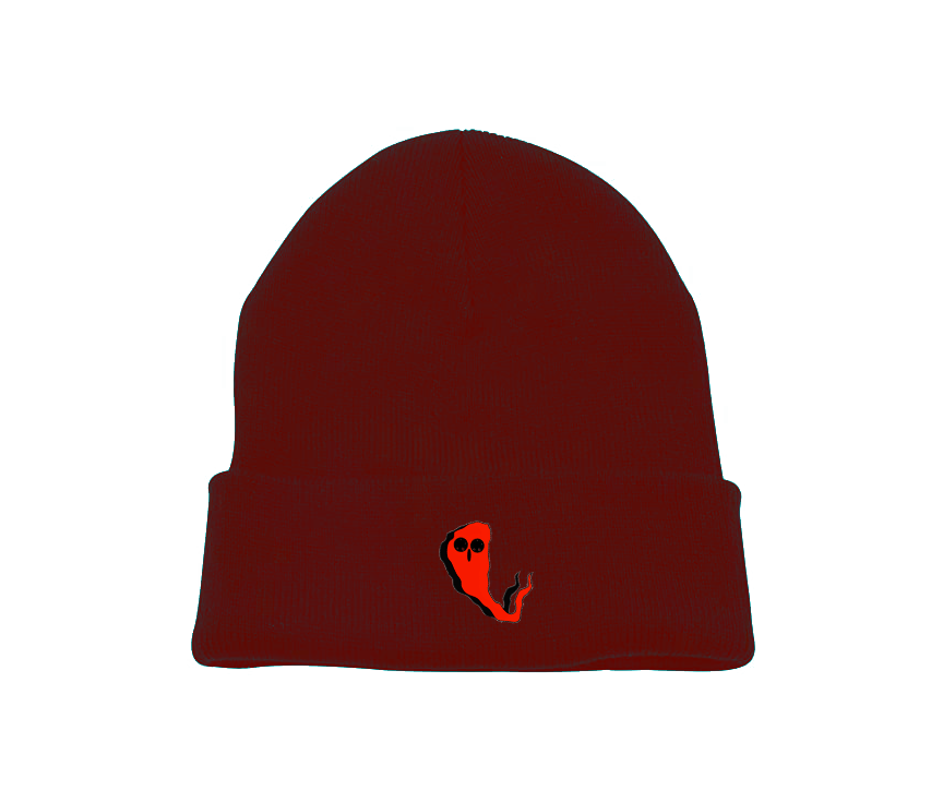 Red Ghost Beanie