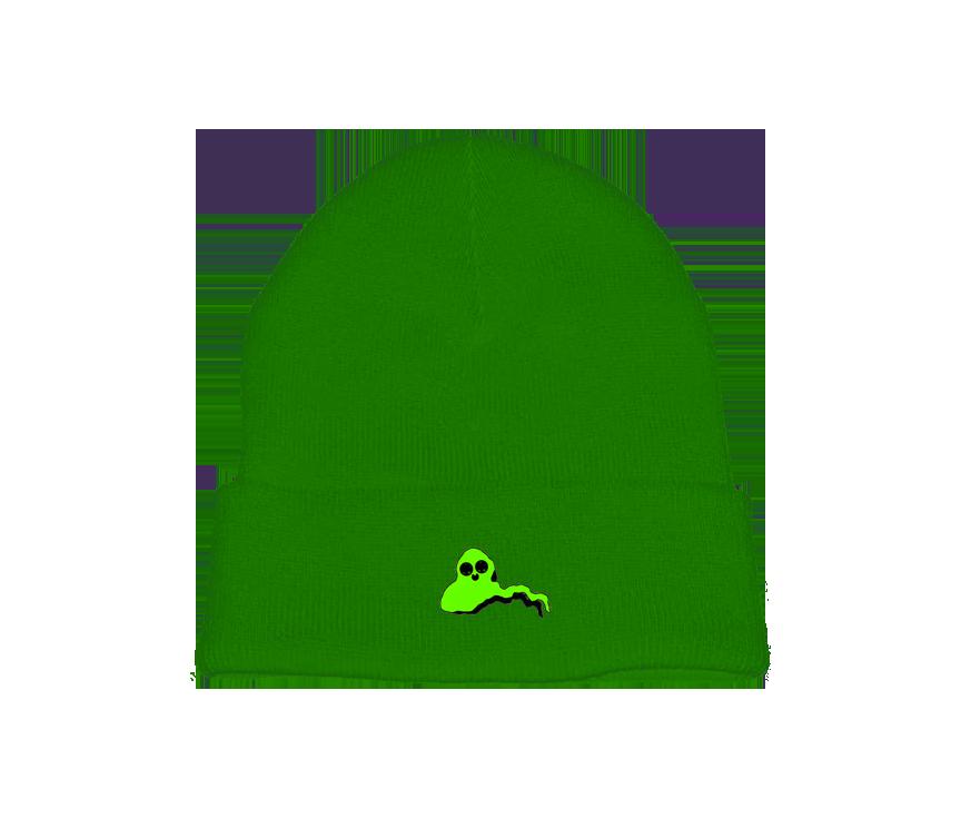 Green Ghost Beanie