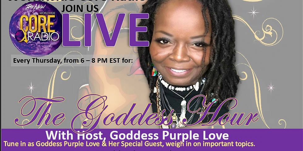 The Goddess Hour Live In-Studio Audience Tickets