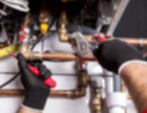 Gas boiler cleaning and servicing
