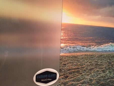 Our latest Custom Glass Window Film