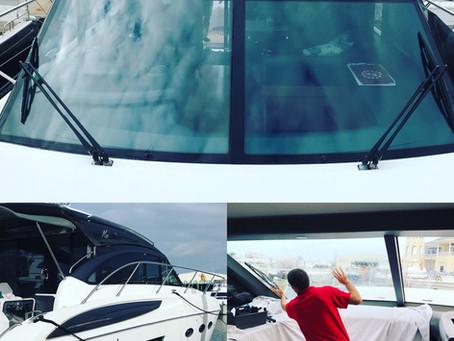 Marine window tinting in Naples, FL