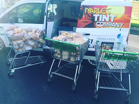 Naples Tint Company delivers for collier harvest