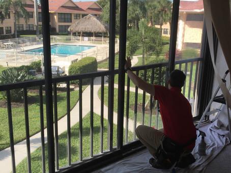 Residential window tinting in Estero, FL