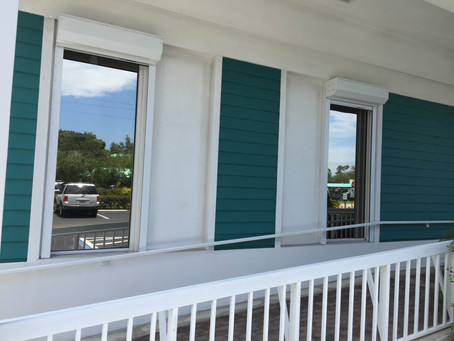 Exterior window film Naples FL