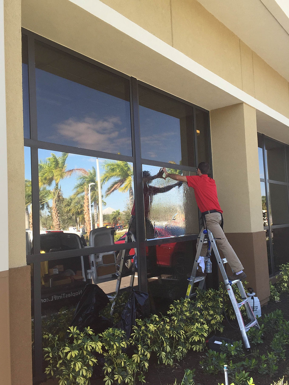 Naples Tint Company Gallery - Exterior window tint for homes