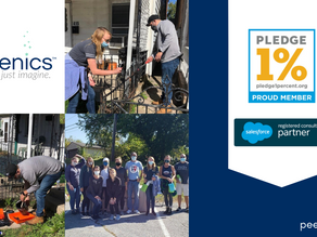 Peergenics joins the Pledge 1% Movement, Makes Commitment to Integrated Philanthropy