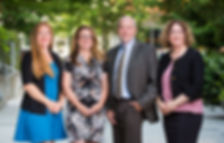 Andrea Bachhuber, Melanie Marmion, Wesley Fitzwater, Theressa Hollis