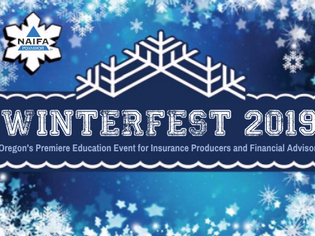 Wes Fitzwater speaks at the NAIFA Winterfest 2019 Conference