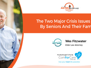 Wes Fitzwater's interview with Mark Turnbull on Aging in Portland radio!