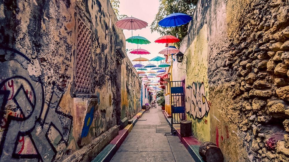 umbrellastreetcartagena