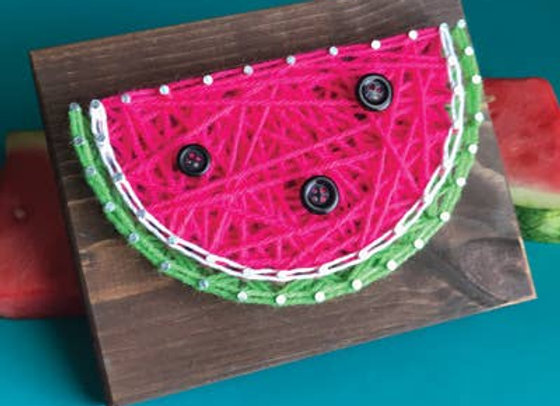Watermelon Mini String Art Kit