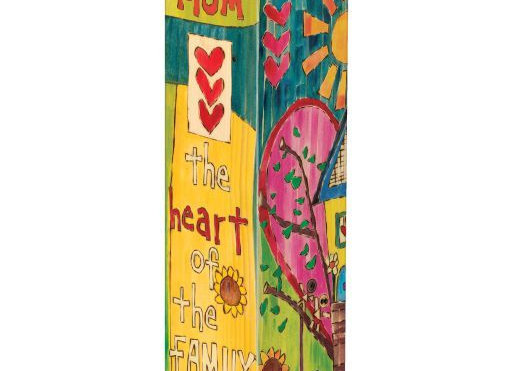"Heart of the Family 20"" Art Poles"