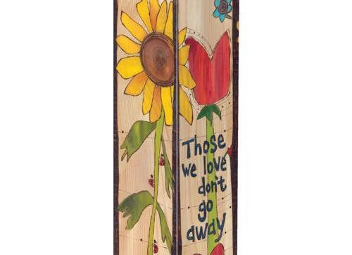 "With Us Everyday 20"" Art Pole"