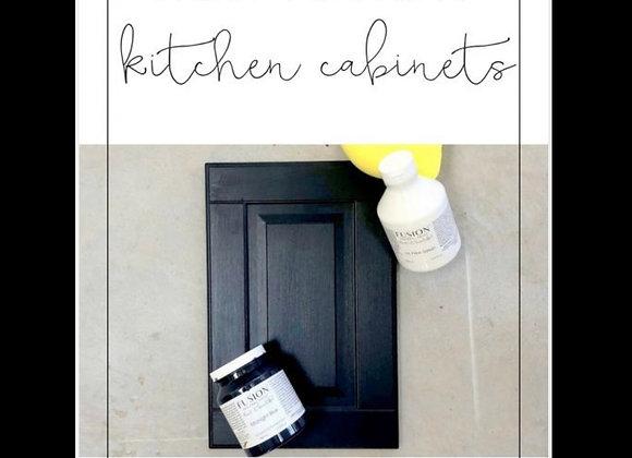Kitchen Cabinet Paint Workshop (Advanced Techniques) 9/2@6:30p $55