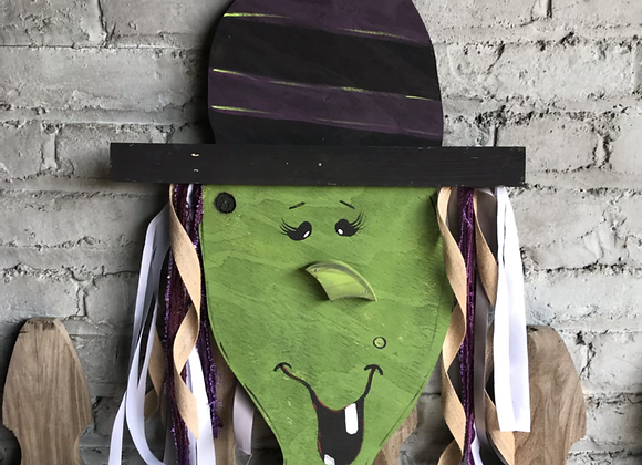 Toothless Tess Witch Paint Class  $38