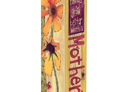 "A Mother's Love 20"" Art Pole"
