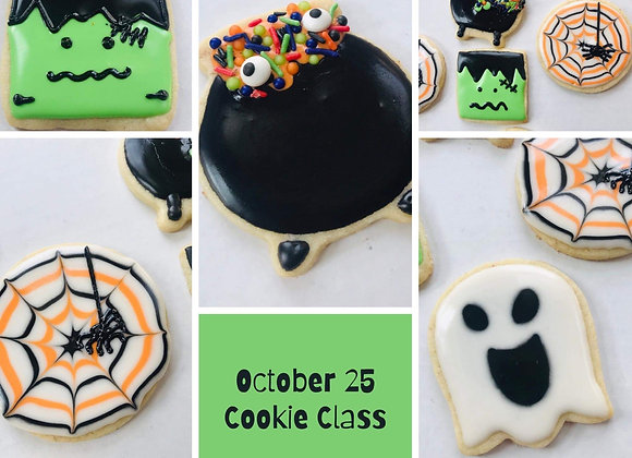 Cookie Decorating Class - Sun.  Oct. 25th@1pm