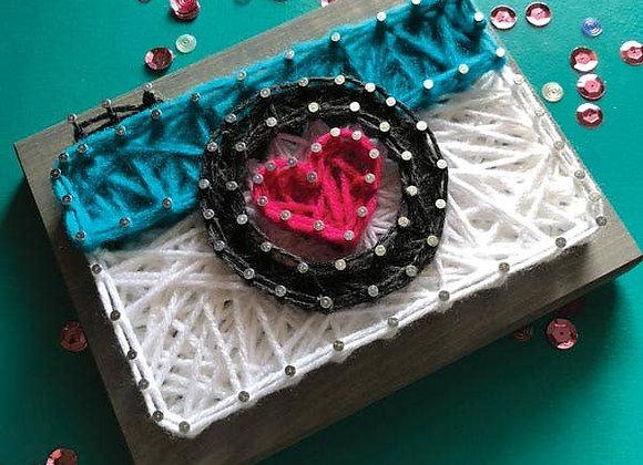 Camera Mini String Art Kit