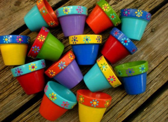 Flower Pot Painting for Mother's Day (Sun. 4/25 1-4)