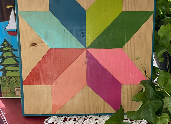 Mini Barn Quilt Paint Project (By Appointment)