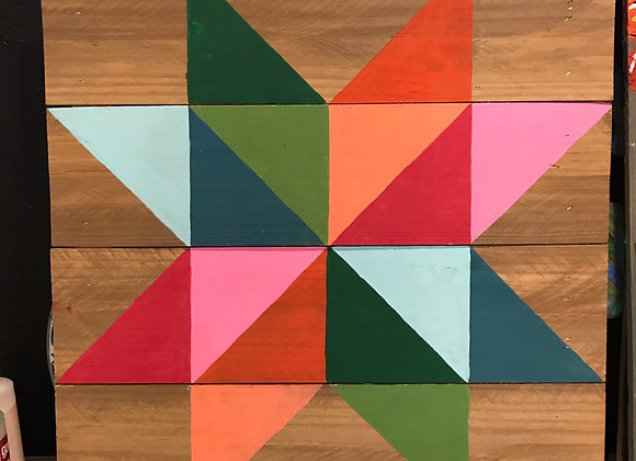 Barn Quilt Class Friday 9/18 at 12pm $60